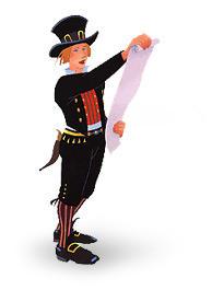 Britta läser upp telegram!